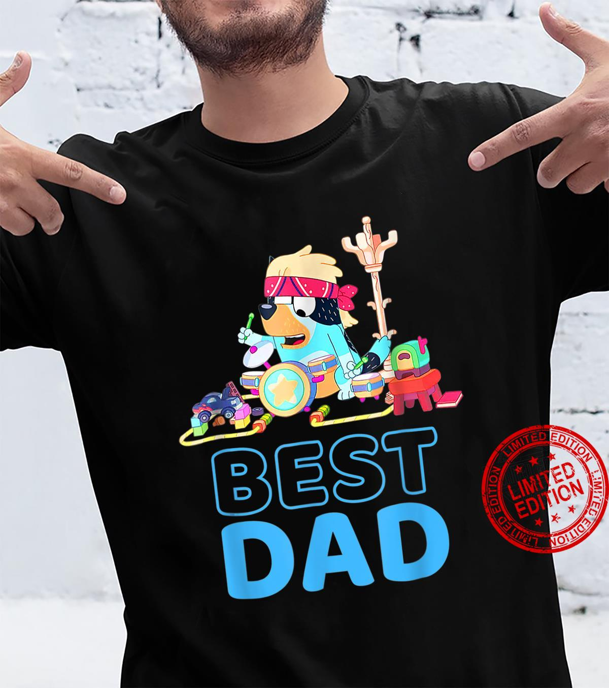B.l.u.e.y Best Dad Matching Family For Shirt