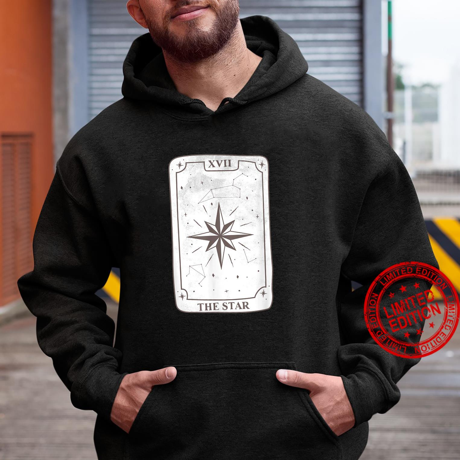 Gothic Witch Tarot Card Design The Star Kawaii Goth Witchy Shirt hoodie