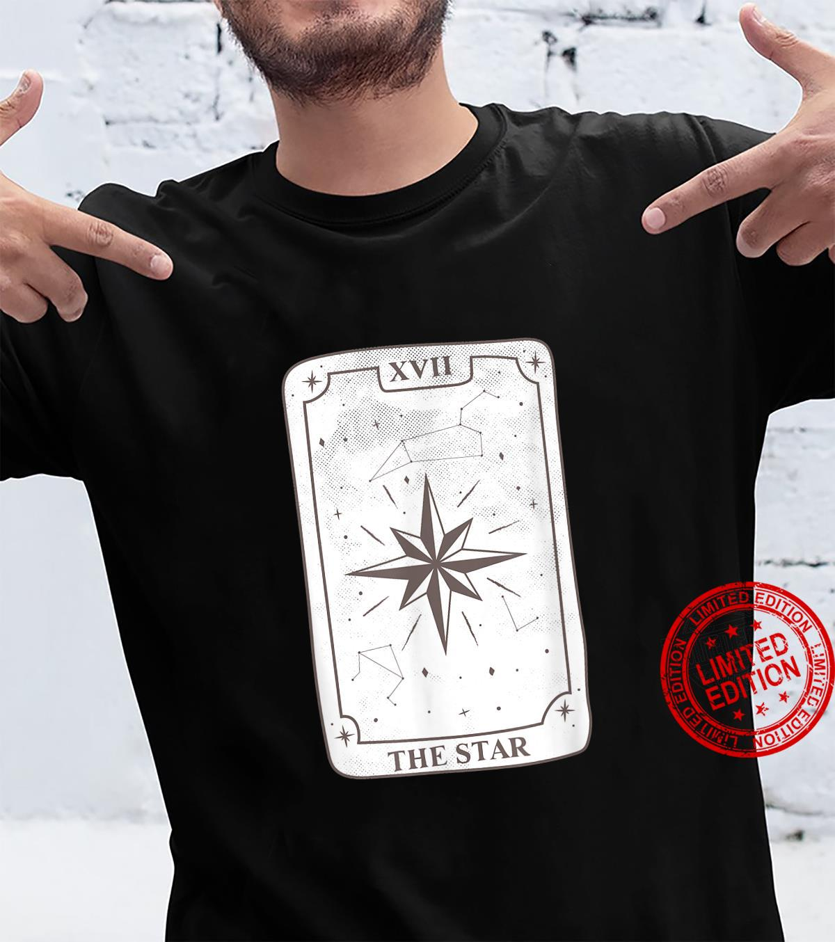 Gothic Witch Tarot Card Design The Star Kawaii Goth Witchy Shirt