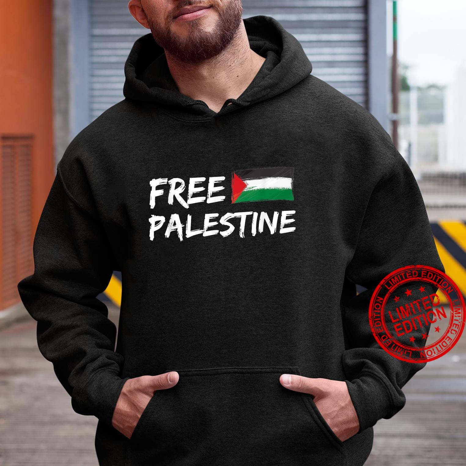 Stand With Palestine Free Palestine Peace Love Flag Shirt hoodie