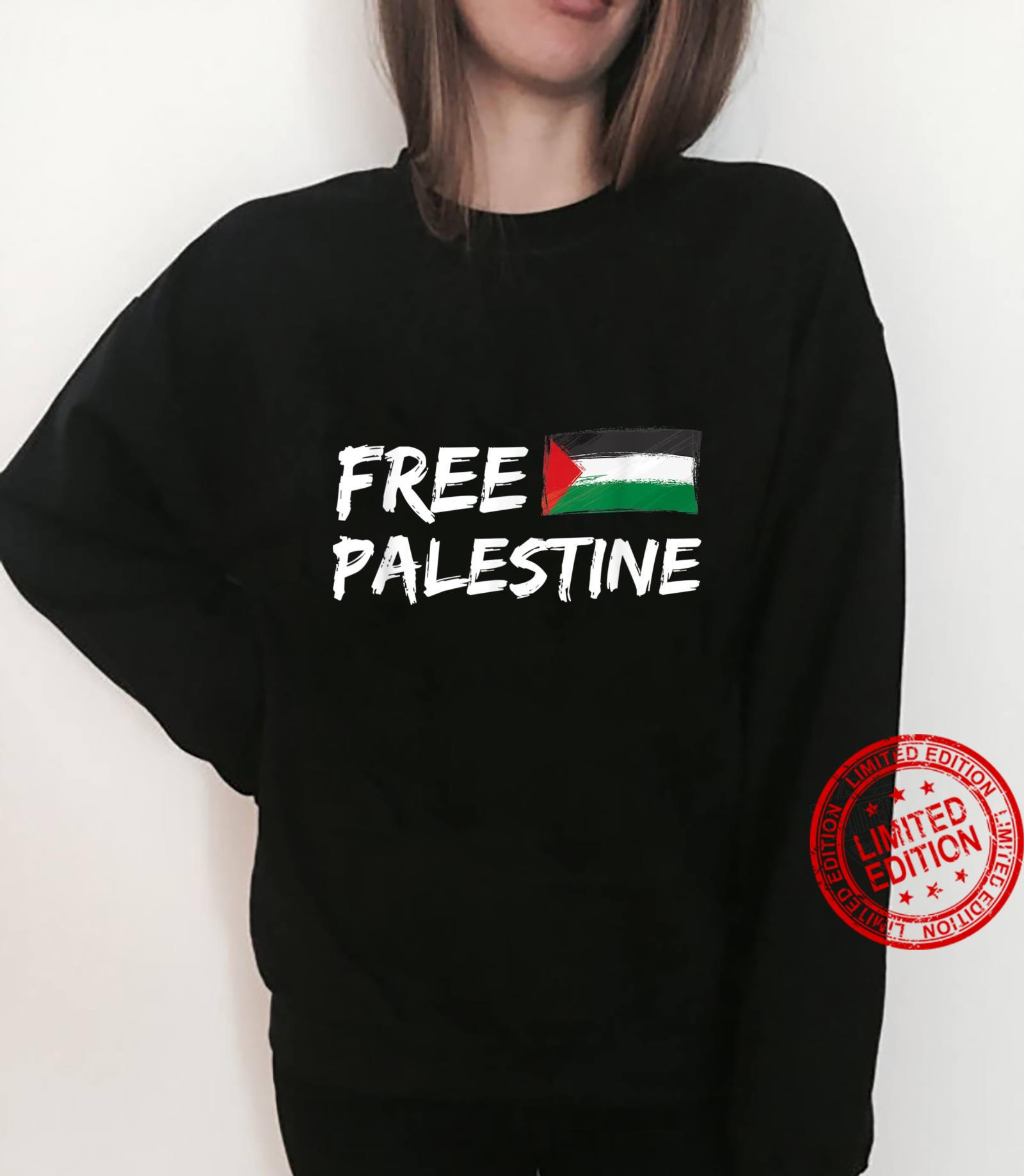 Stand With Palestine Free Palestine Peace Love Flag Shirt sweater