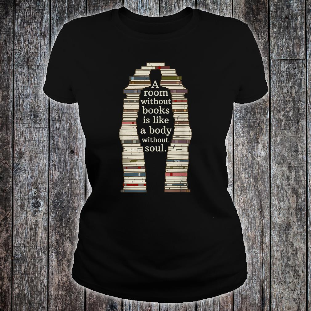 A Room With Soul Book Reading Enthusiast Design Shirt ladies tee