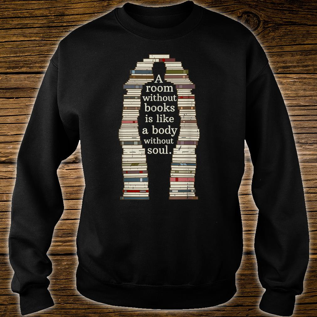 A Room With Soul Book Reading Enthusiast Design Shirt sweater