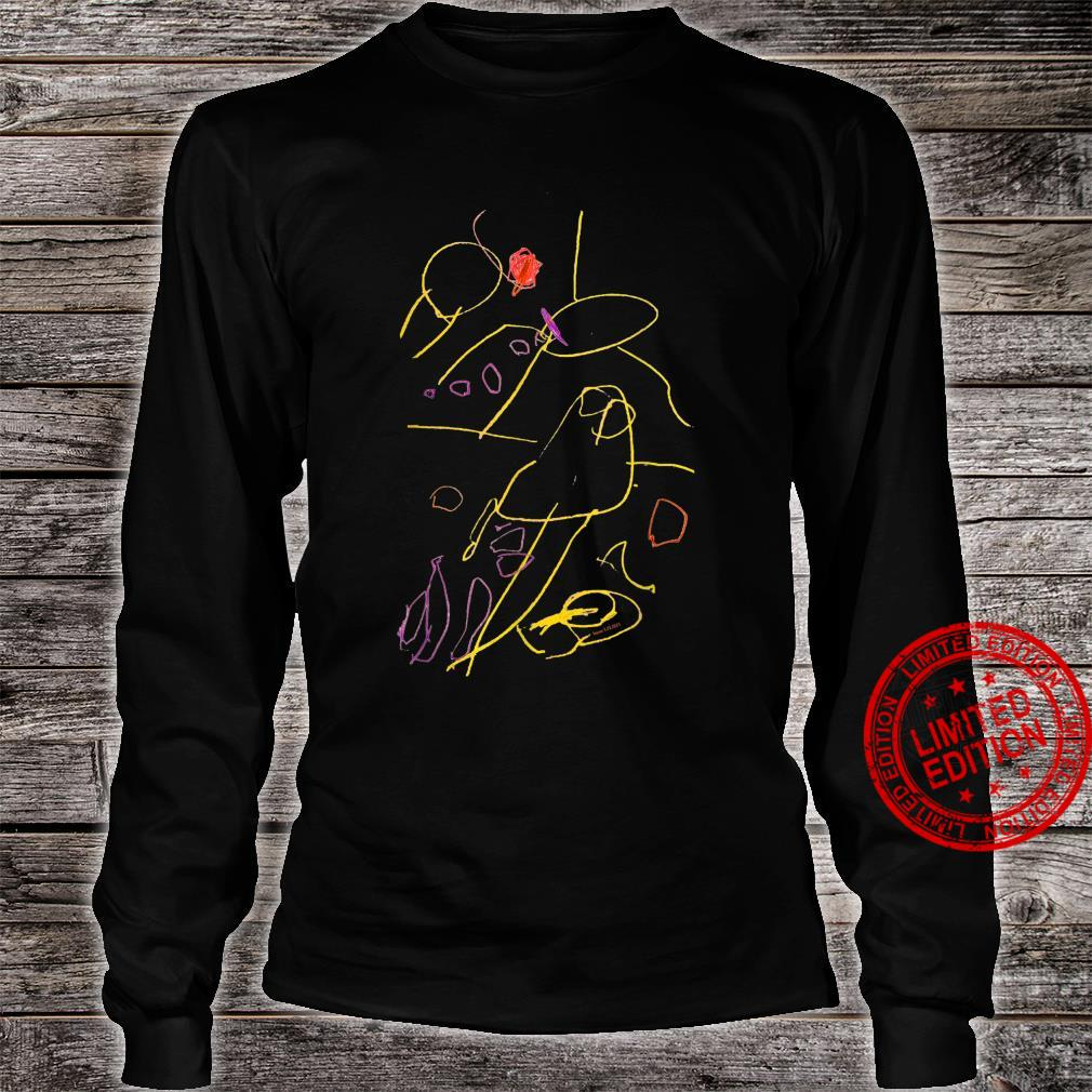 Artbritrary Child Drawing Shirt long sleeved