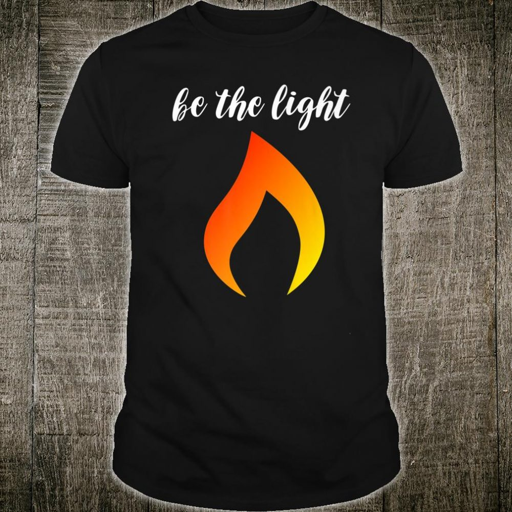 Be The Light Matthew 514 Christian Bible Verse and Faith Shirt