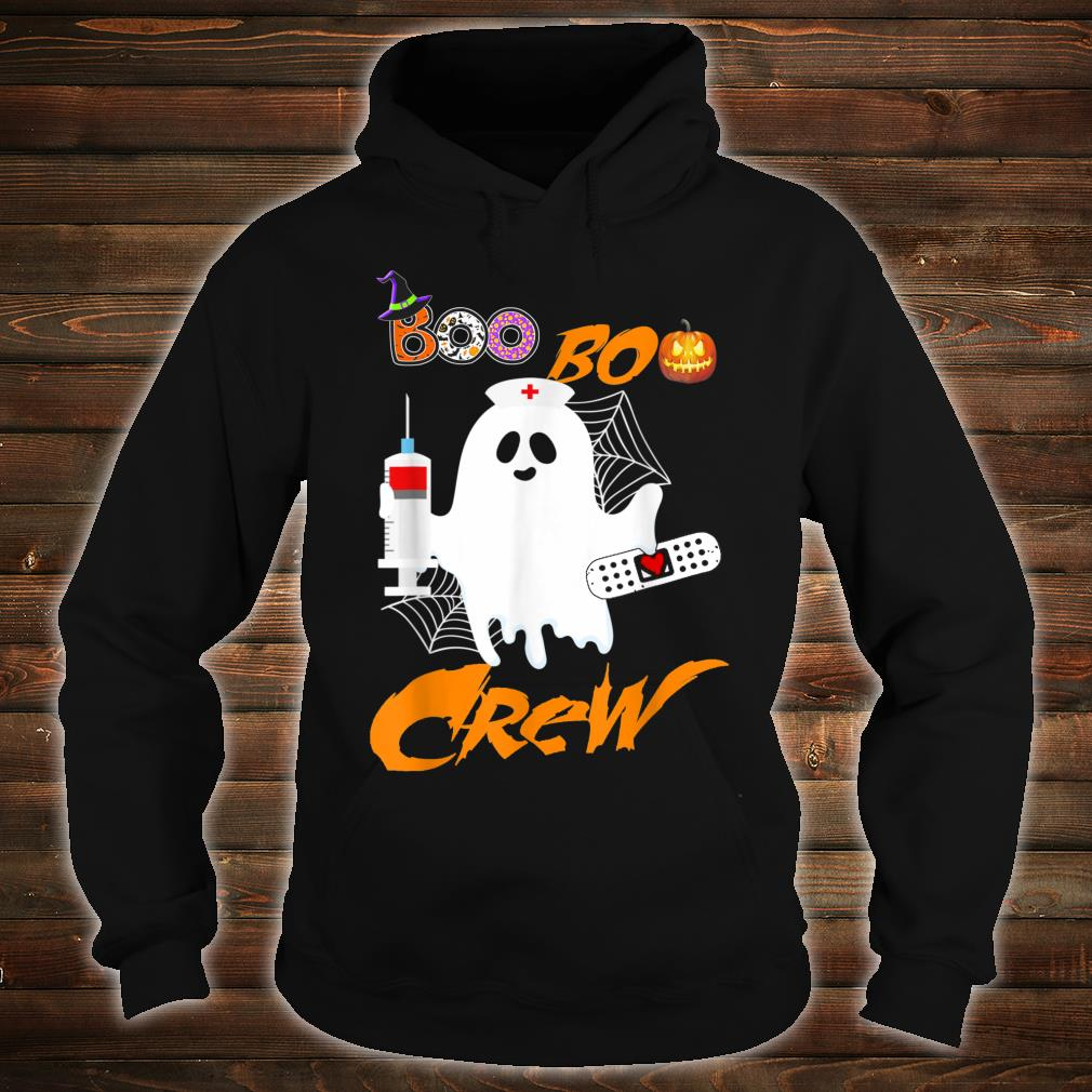 Boo Boo Crew Nurse Ghost Halloween Costume Shirt hoodie