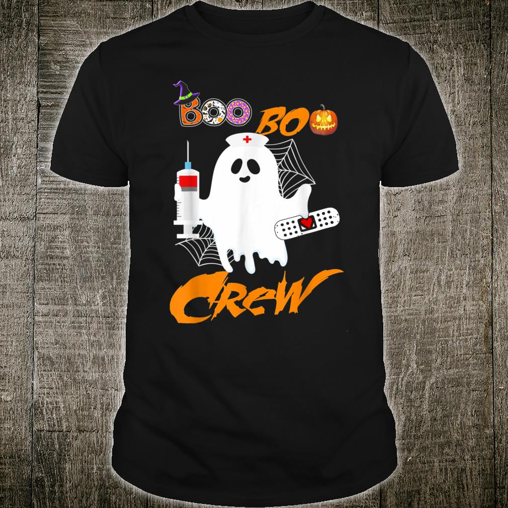 Boo Boo Crew Nurse Ghost Halloween Costume Shirt