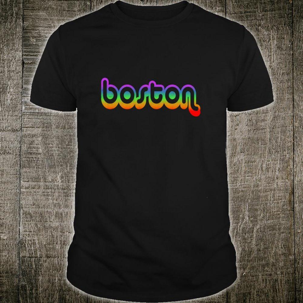 Boston Vintage Retro Massachusetts Prides Shirt