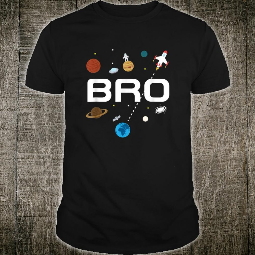 Brother Outer Space Birthday Party Shirt
