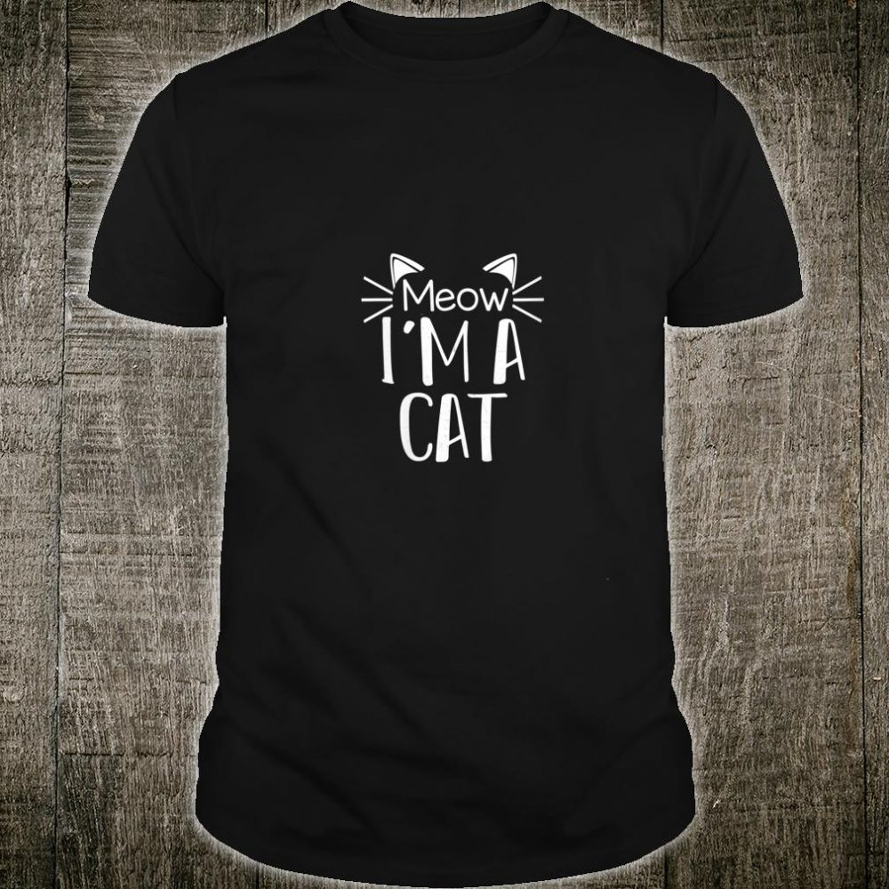 Cat Animal Cute Halloween Costume Shirt