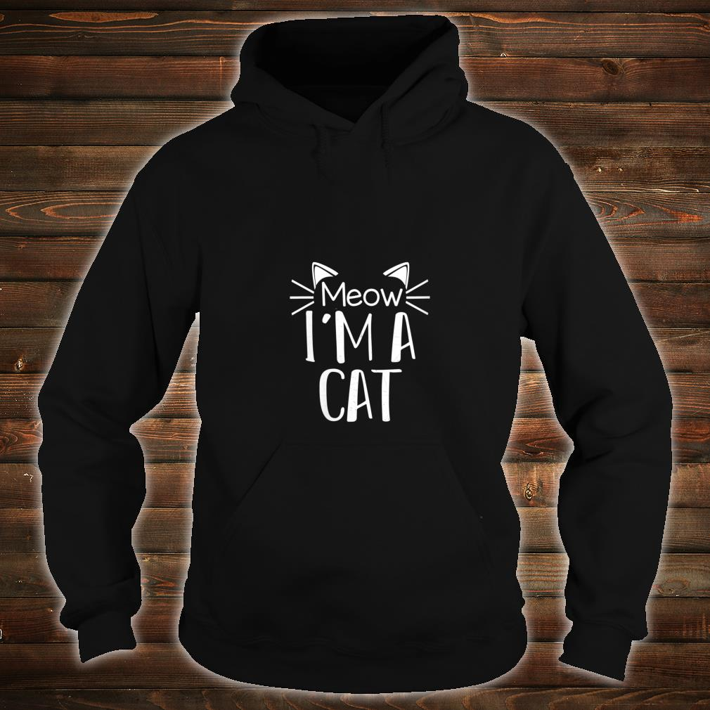 Cat Animal Cute Halloween Costume Shirt hoodie