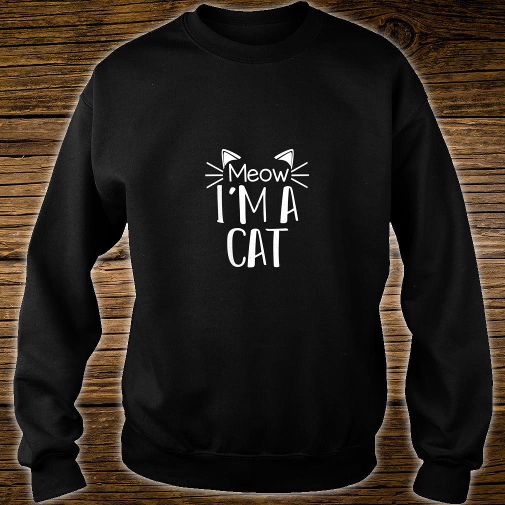 Cat Animal Cute Halloween Costume Shirt sweater