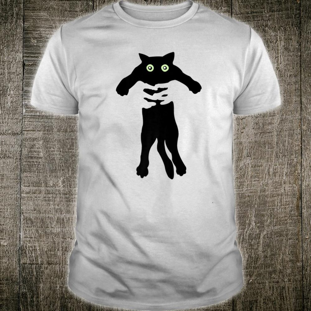 Cat Funny Cat Cat Being Lifted Up Shirt