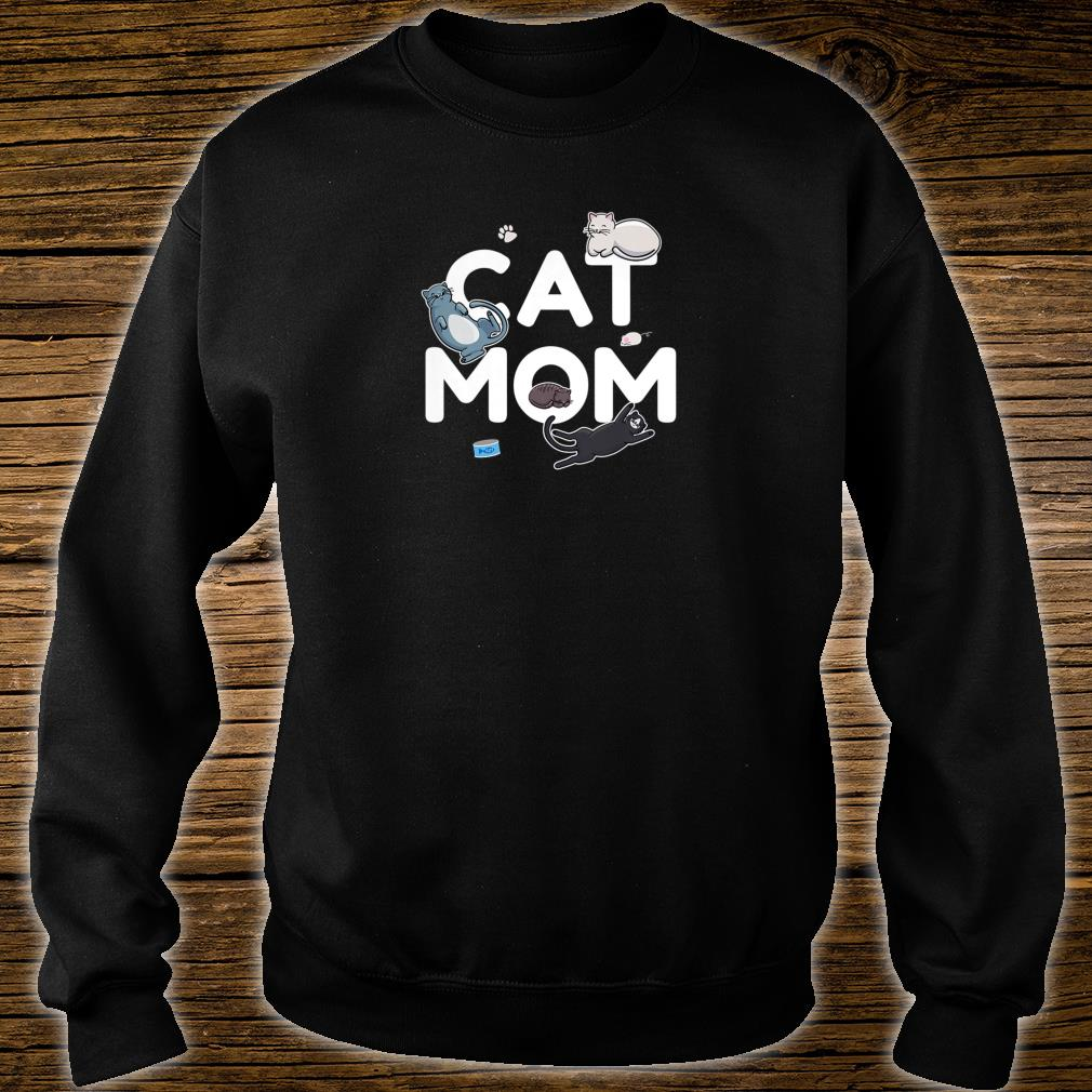 Cat Mom Cute Kittens for Pet Owners and Animal Shirt sweater