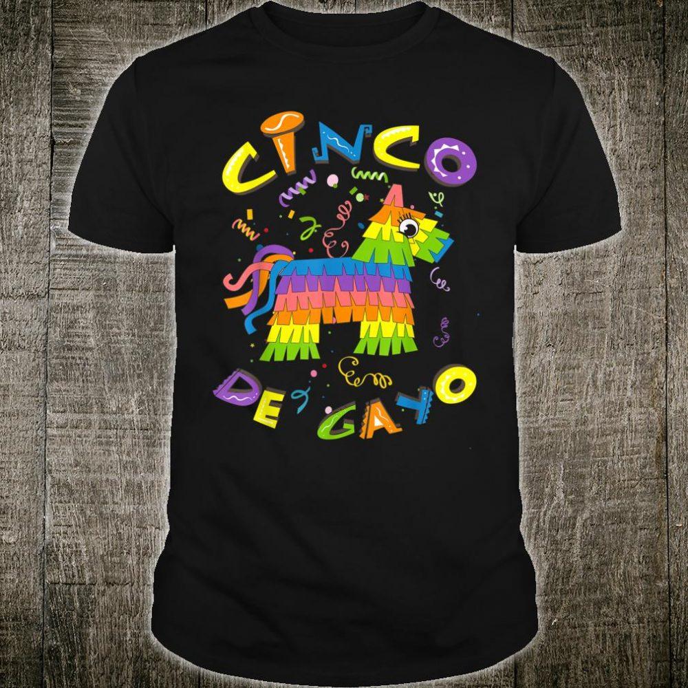 Cinco De Gayo Cute LGBT Cinco De Mayo Shirt