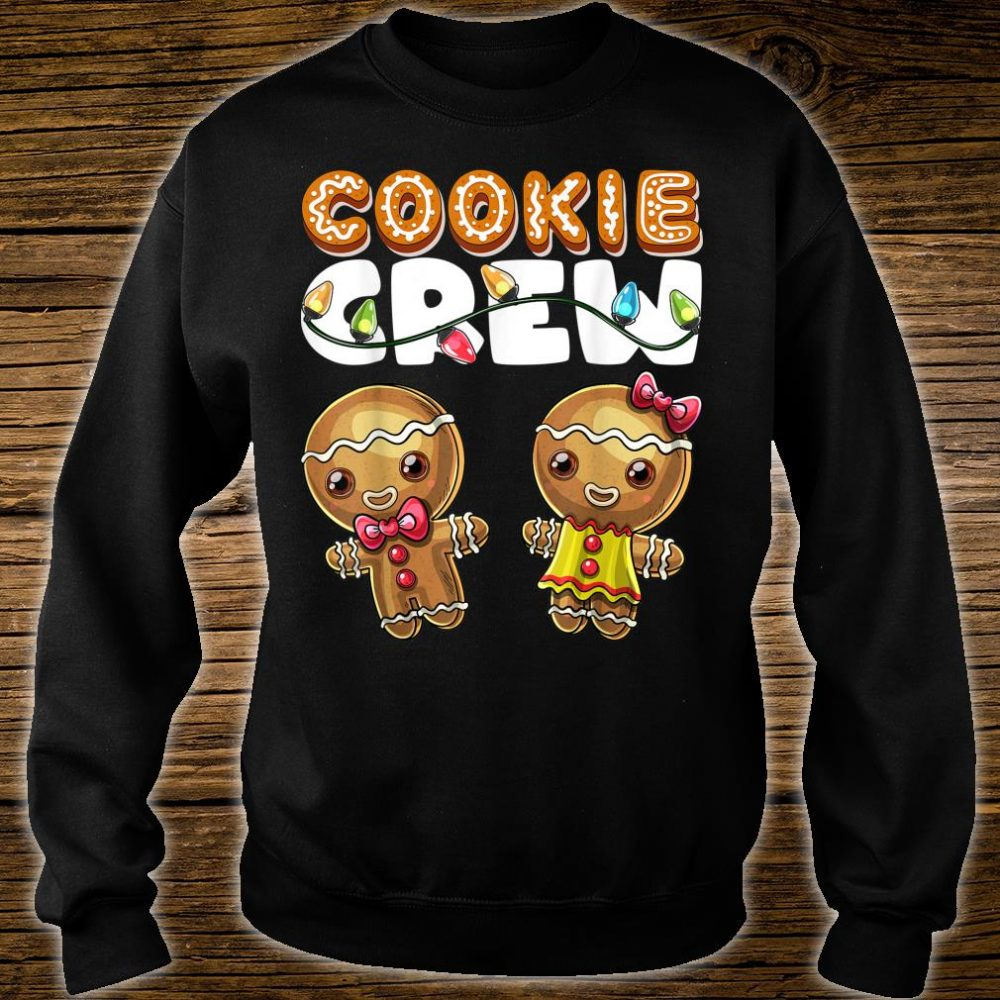 Cookie Crew Gingerbread Christmas Baking Shirt sweater