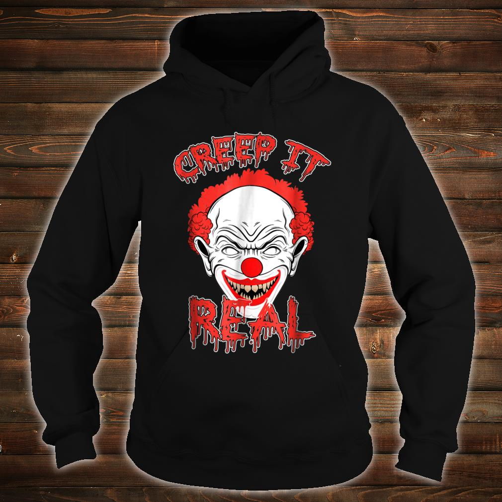 Halloween Clown.Creep It Real Scary Halloween Killer Clown Shirt