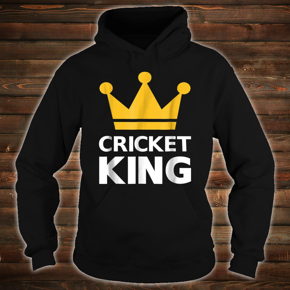 Cricket king Shirt hoodie