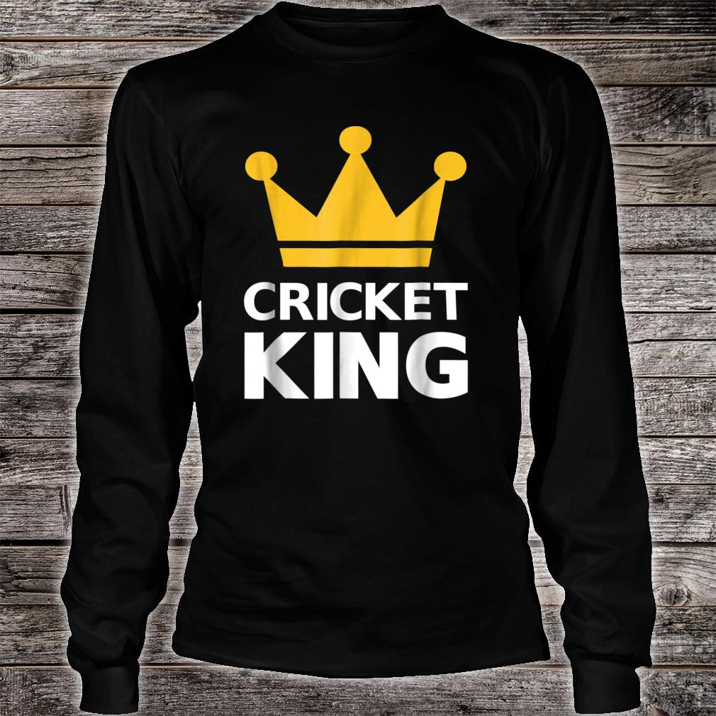 Cricket king Shirt long sleeved