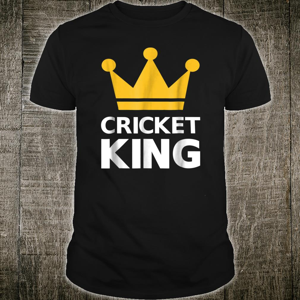 Cricket king Shirt