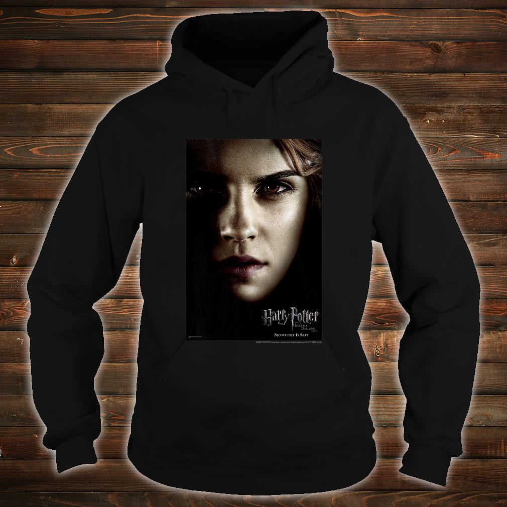 Harry Potter Deathly Hallows Hermione Character Poster Shirt hoodie