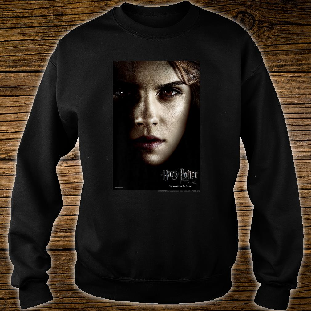 Harry Potter Deathly Hallows Hermione Character Poster Shirt sweater