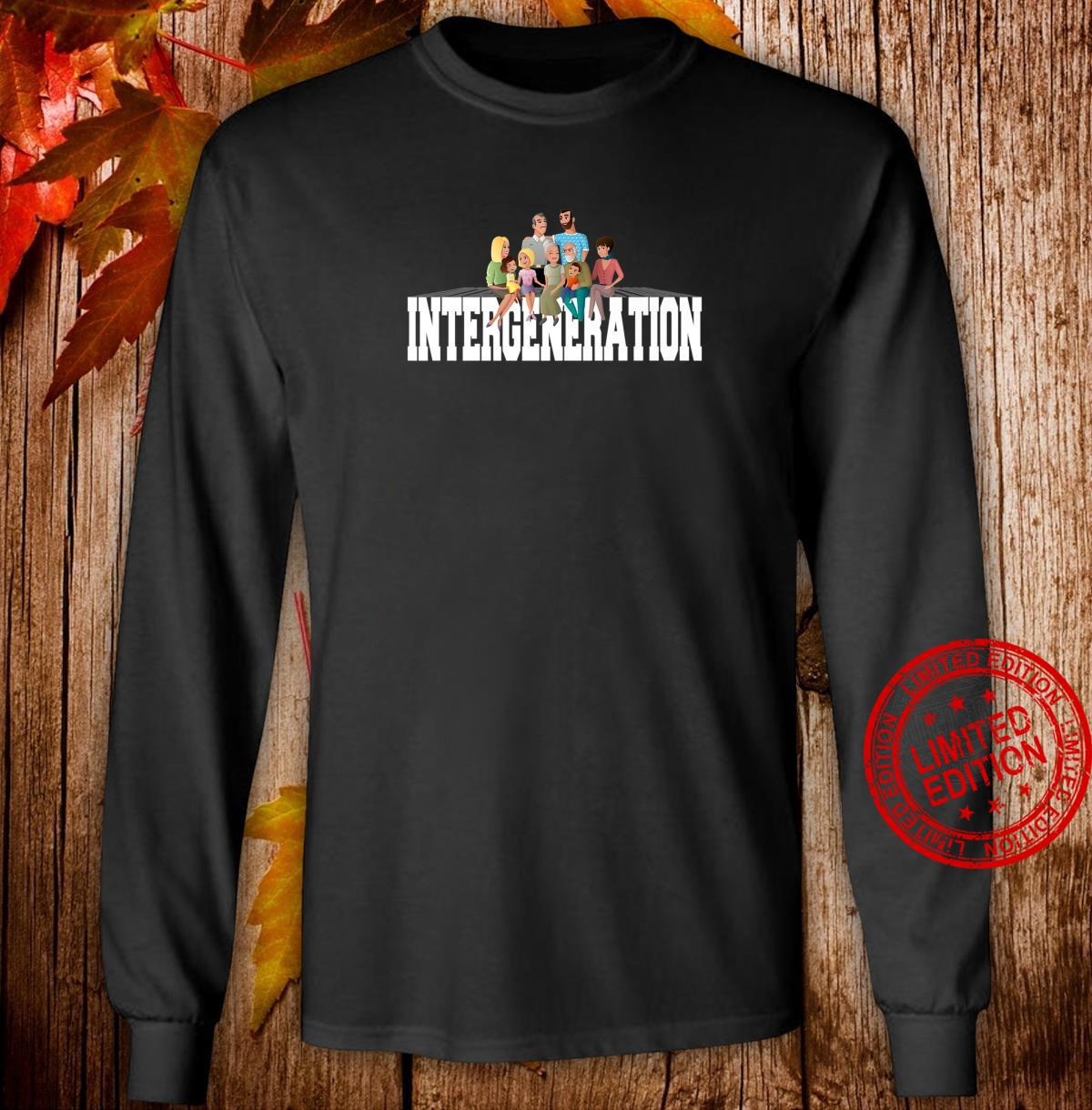 Intergeneration Month Shirt long sleeved