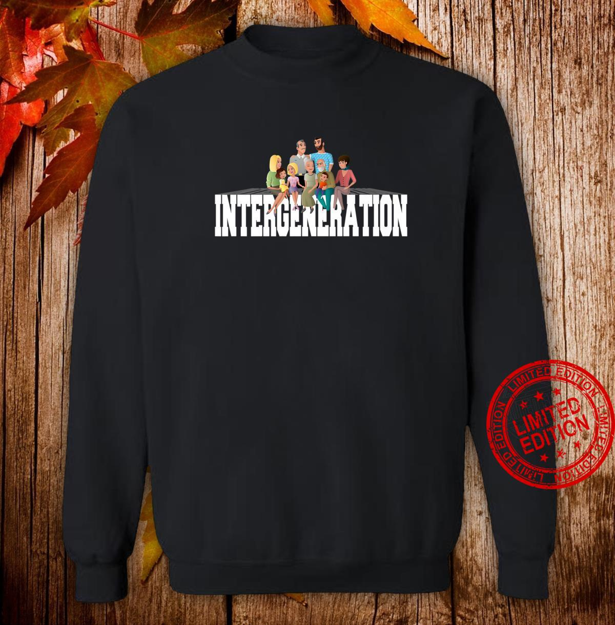 Intergeneration Month Shirt sweater