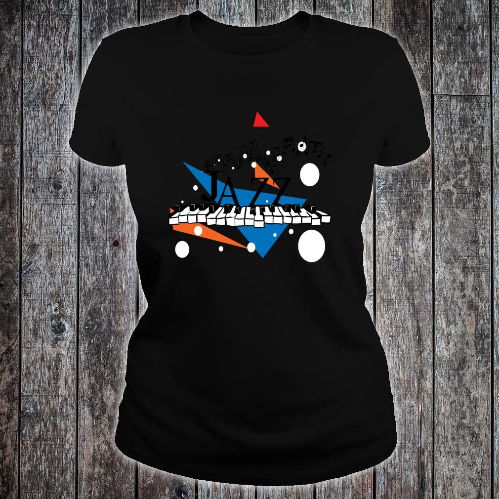 Jazz Piano Jazz Keys Music Shirt ladies tee