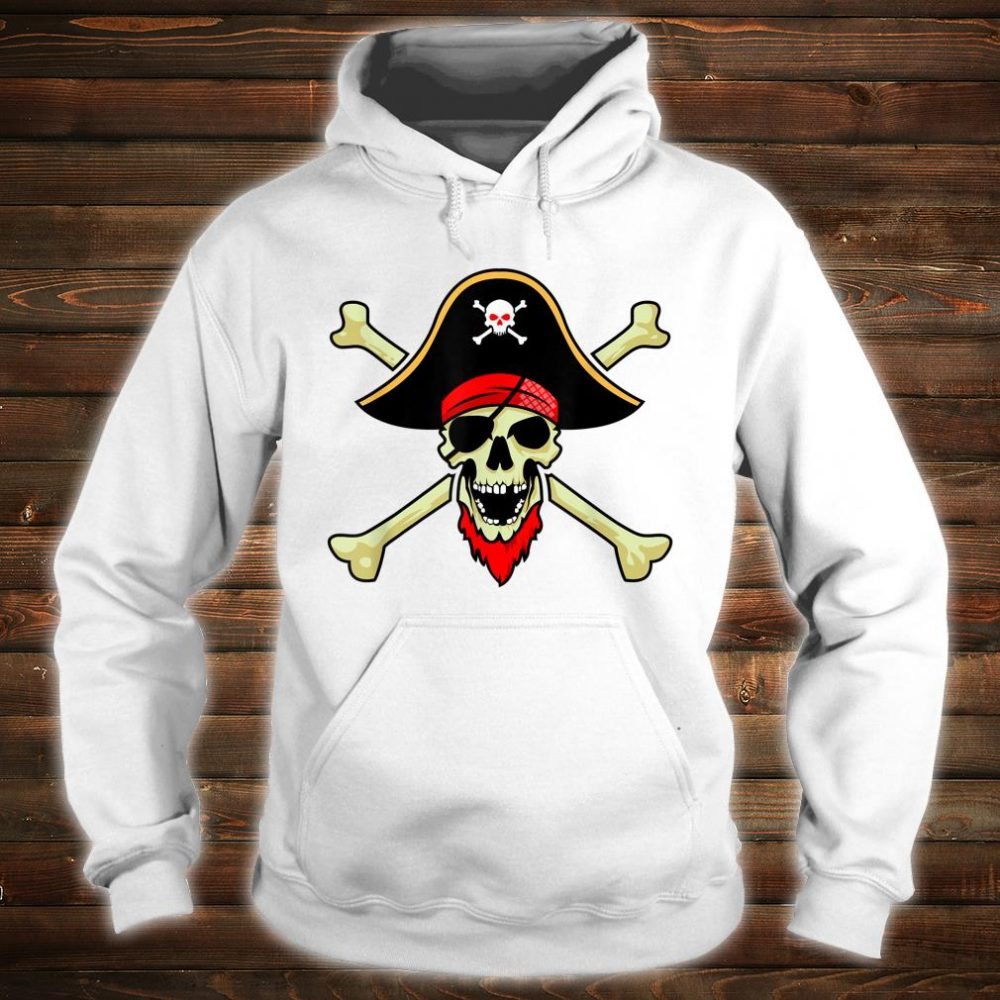 Jolly Roger Pirate Flag Skull Crossbones Buccaneer Corsair Shirt hoodie