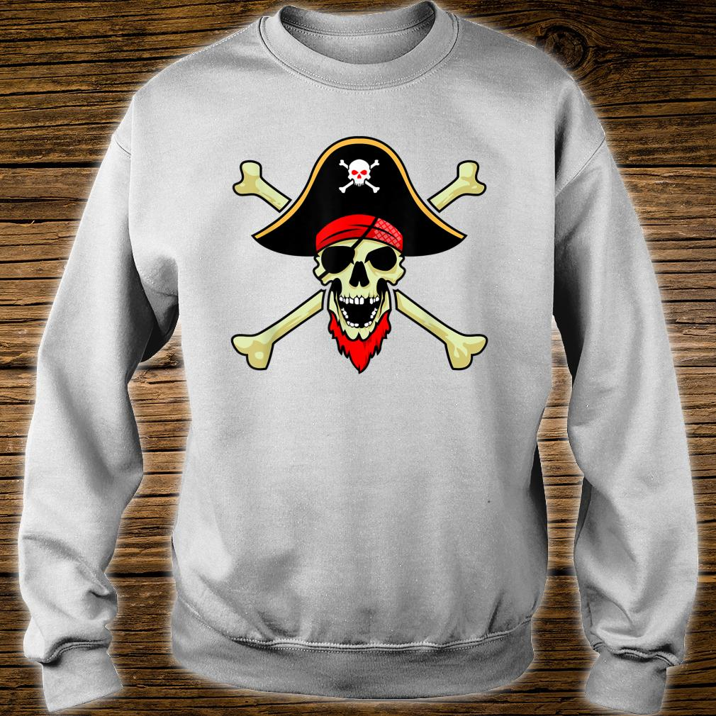 Jolly Roger Pirate Flag Skull Crossbones Buccaneer Corsair Shirt sweater
