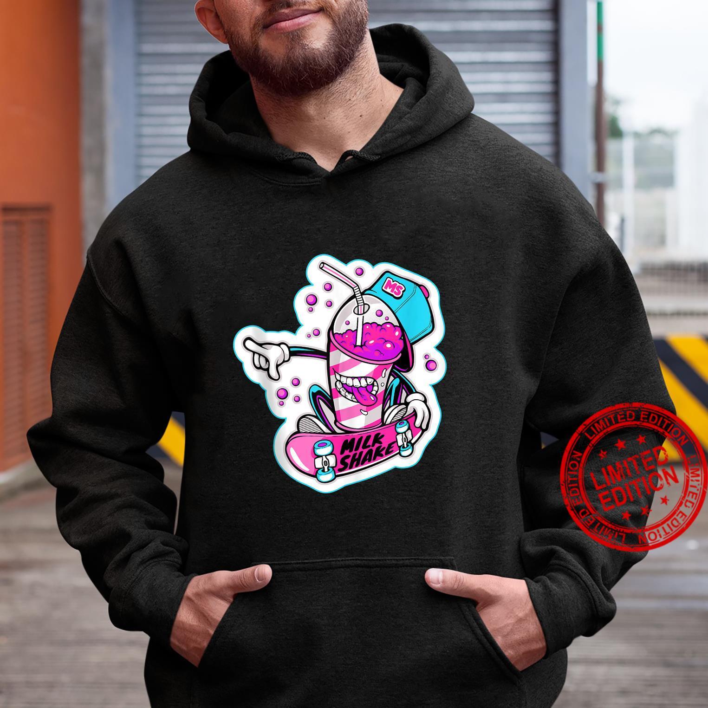 Milk Shake Character Shirt hoodie