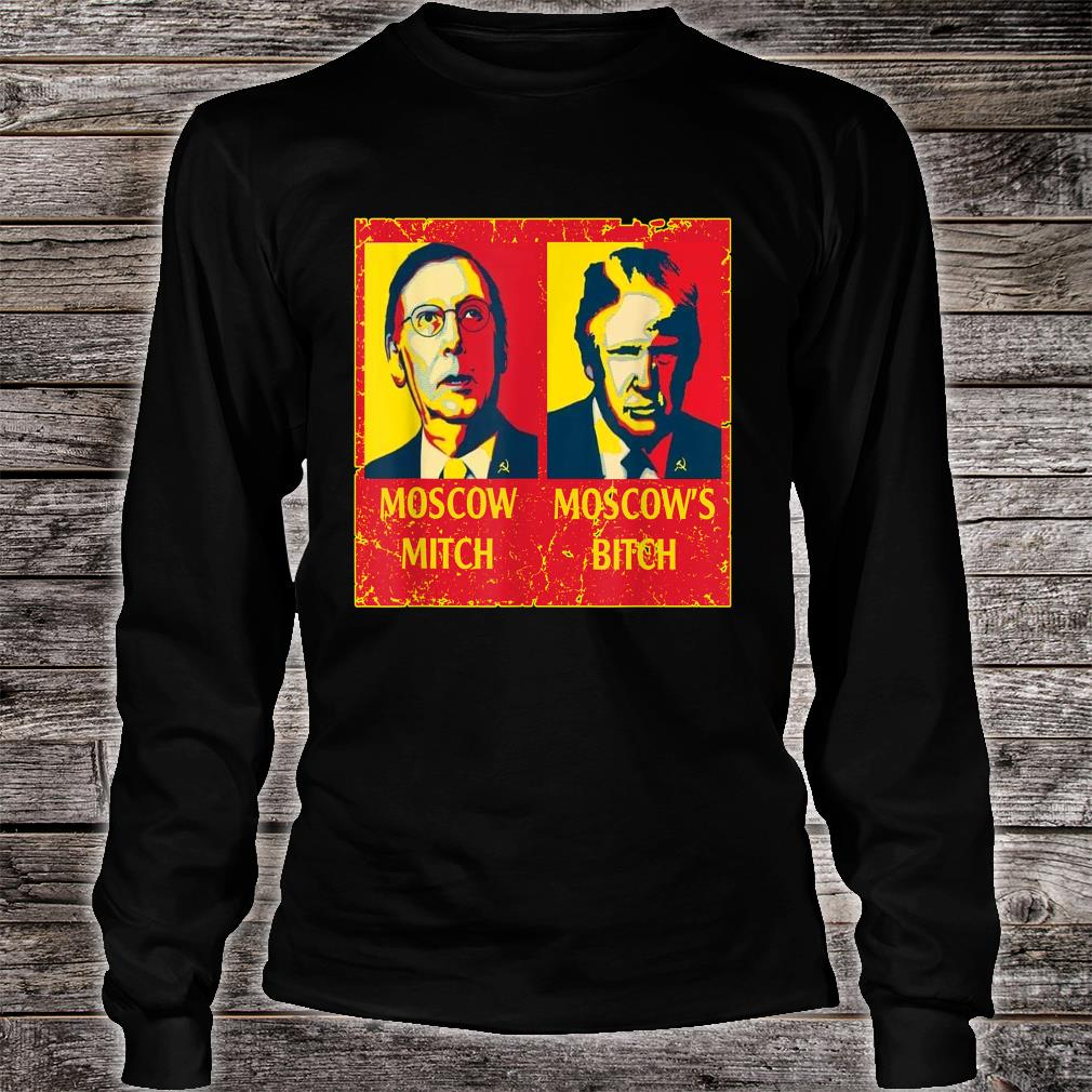 Moscow Mitch Moscow's Bitch Shirt long sleeved