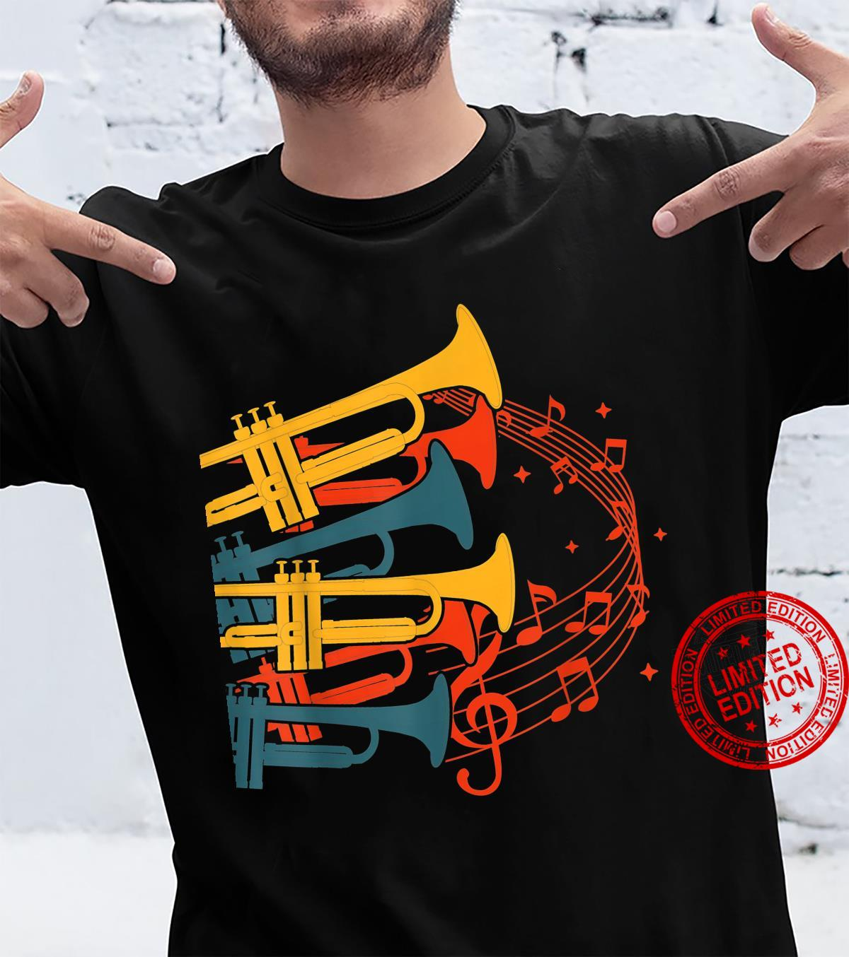 Musical Instrument Retro Trumpet Shirt