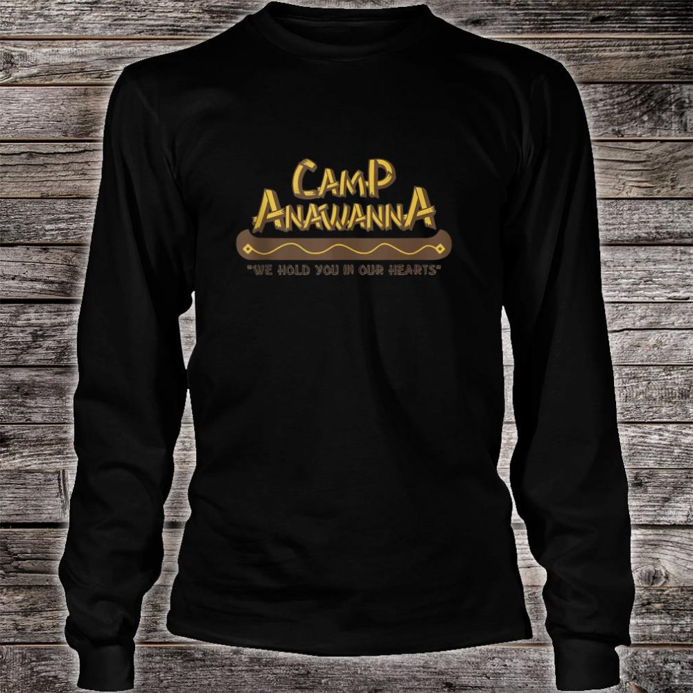 Nickelodeon Salute Your Shorts Camp Anawanna Quote Shirt long sleeved