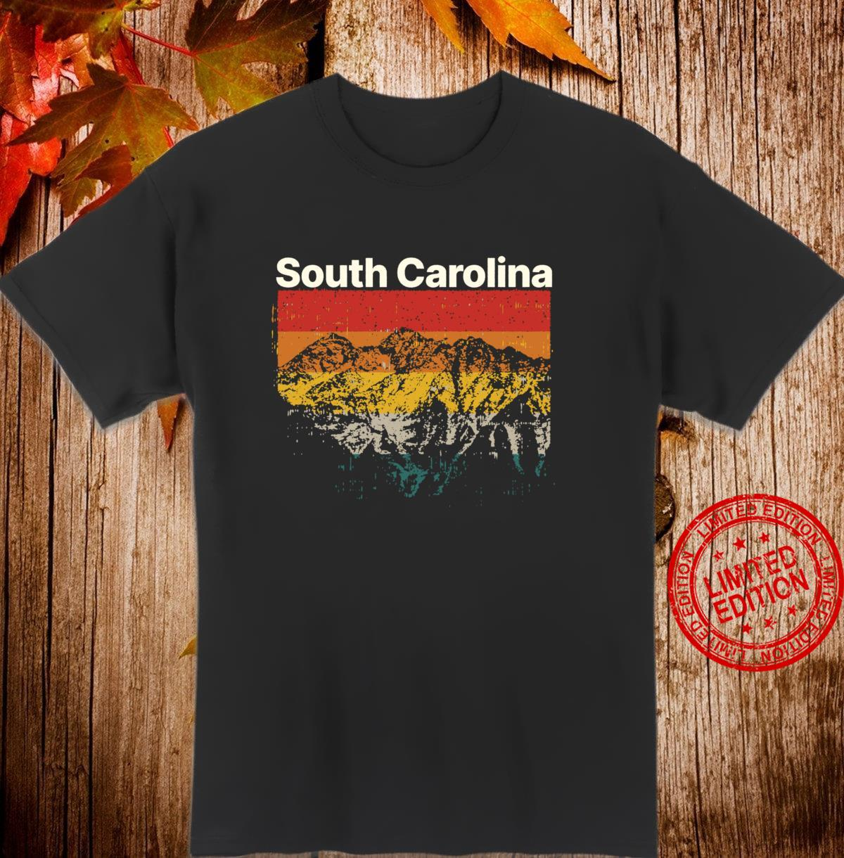 South Carolina Vintage Mountain Outdoors Hiking Souvenir Shirt