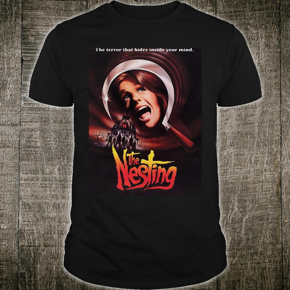 The terror that hides inside your mind the nesting shirt