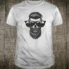 Trendy Skull with Beard and Sunglasses Hipster Style Shirt