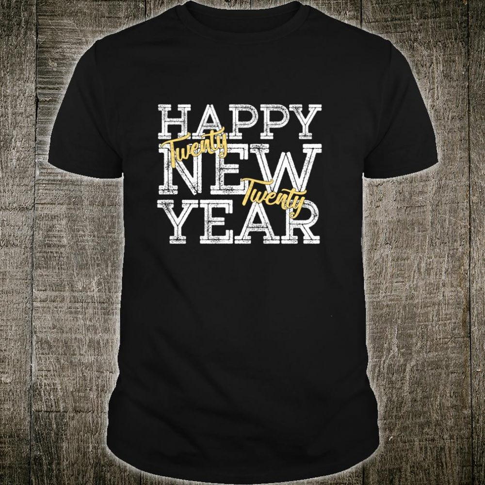 Vintage 2020 Happy New Years Party Costume Shirt