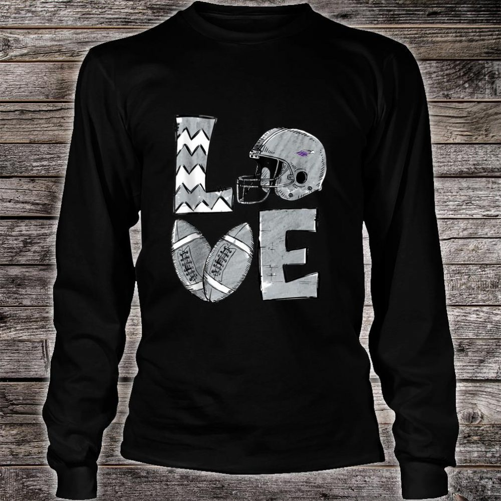 Wisconsinwhitewater Warhawks Stacked Love Shirt long sleeved