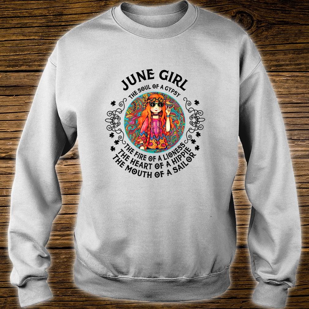 June Girl The Soul of A Gypsy Woman T-Shirt